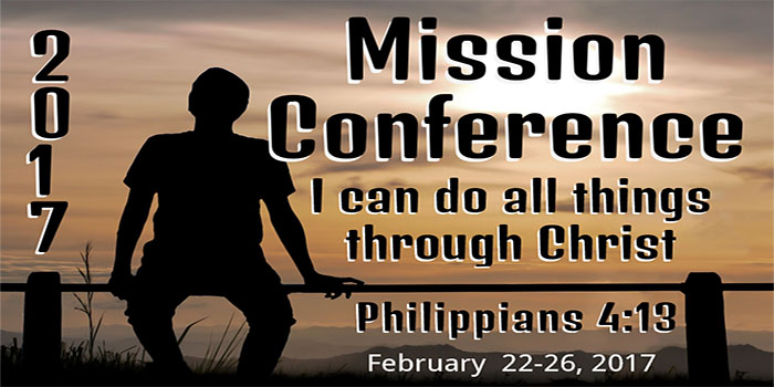 Mission Conference 2017